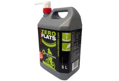 Latex tmel Zeroflats 5 l + pumpa