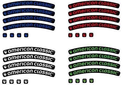Samolepky na ráfek American Classic
