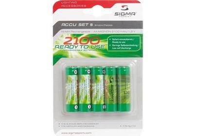 Tužkové dobíjecí baterie Sigmasport Ni-MH,AA, 5ks