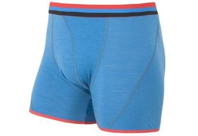 Pánské trenky Sensor Merino Wool Active, modrá