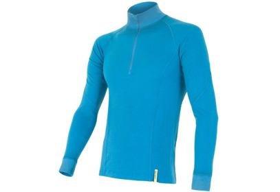 Pánské triko Sensor Double Face Merino Wool, modrá - ROLÁK