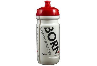 Láhev Born, bílá/červená