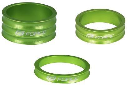 """Kroužek řízení Force 1 1/8"""", 28,6mm - zelená"""