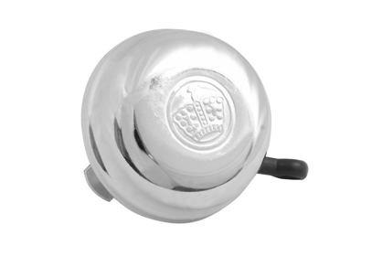 Zvonek kovový KORUNKA chromovaný - klasika