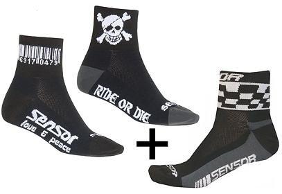 Ponožky Sensor RACE, 3 páry