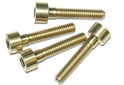 Sada titanových šroubů A2Z B-M4200, rozměr M4x20mm, 4x