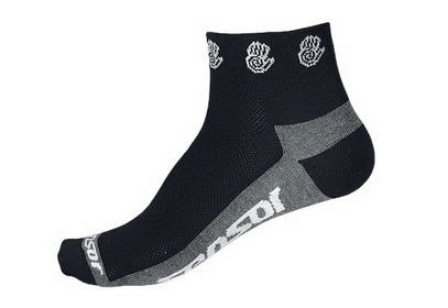 Ponožky Sensor Race Lite Ručičky, černá