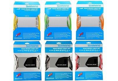 Brzdový set Shimano BC-9000, polymer, bowdeny+lanka