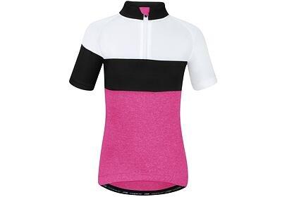 Dětský dres Force KID VIEW růžovo-bílo-černý