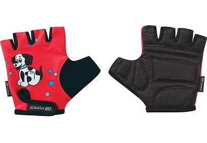 Dětské rukavice Force KID, pes, červené