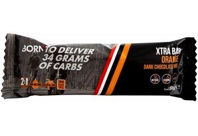 BORN XTRA Bar, 55g, pomeranč + tmavá čokoláda