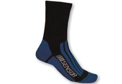Ponožky Sensor Treking EVO, modrá