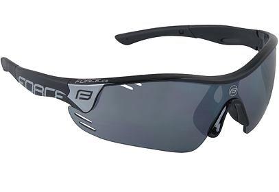 Brýle Force RACE PRO černé + černá laser skla - 909395