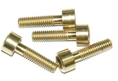 Sada titanových šroubů A2Z B-M4150, rozměr M4x15mm, 4x