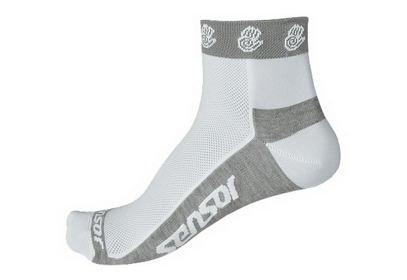 Ponožky Sensor Race Lite Ručičky, bílá