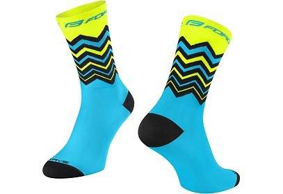 Ponožky Force Wave fluo modré