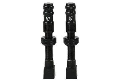 CafféLatex tubeless ventilky, 2ks, černá